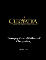 Pompey Grandfather of Cleopatra7