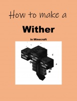 How to make a Wither in Minecraft