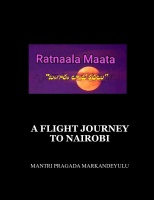 A FLIGHT JOURNEY TO NAIROBI