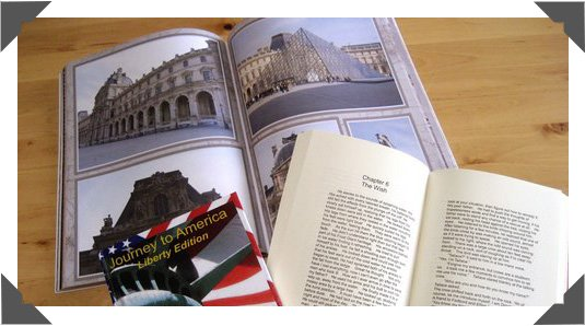 Quality paper stock for Color and B&W thick books with up to 460 pages