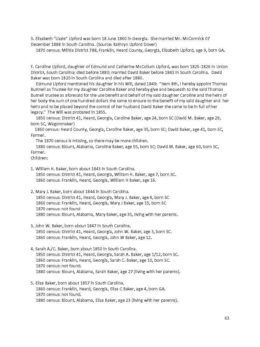 The Lipford Family In America   Page 8501941   Book 347767 - Bookemon