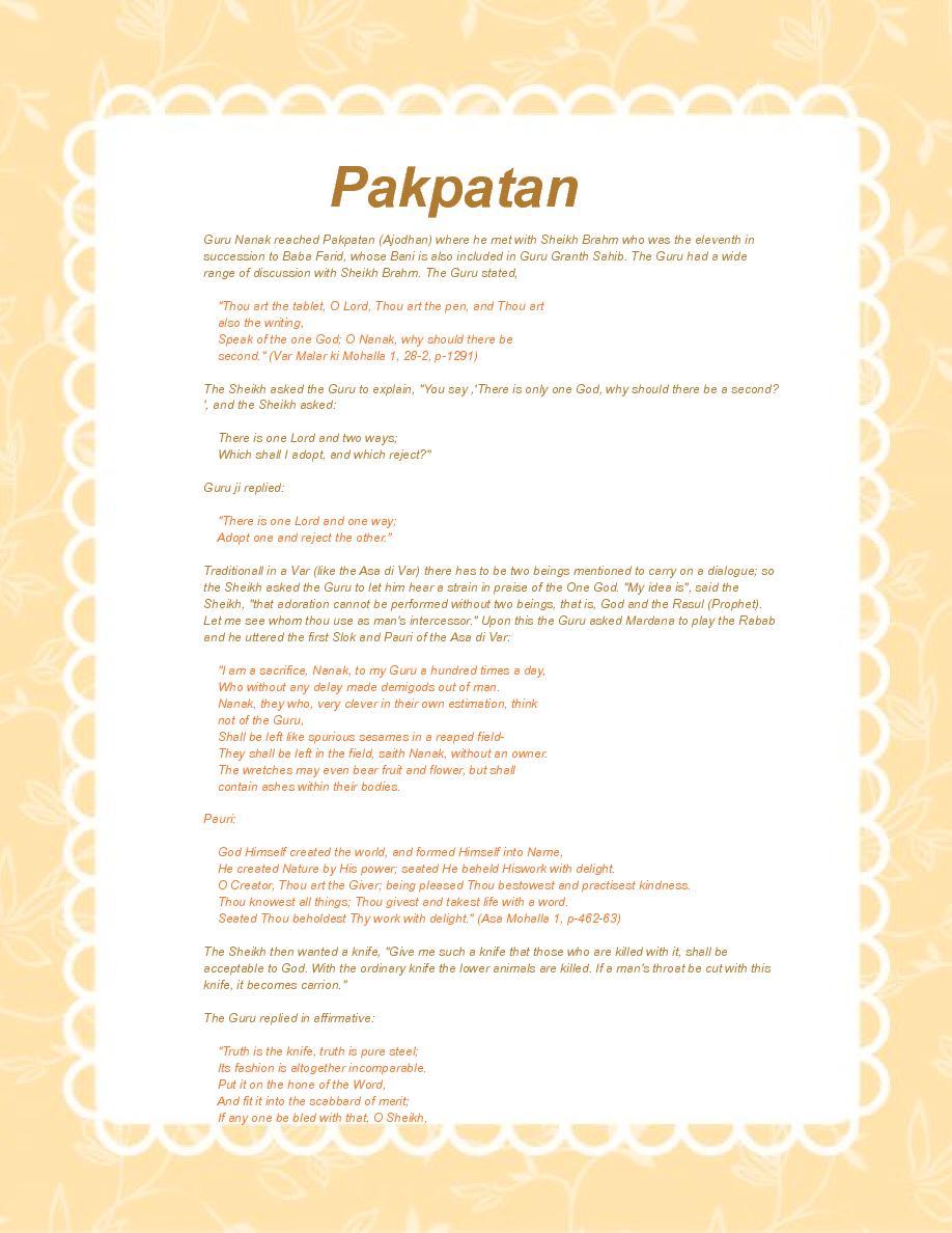 Guru Nanak Dev Ji The Founder Of Sikhism Page Blank Book