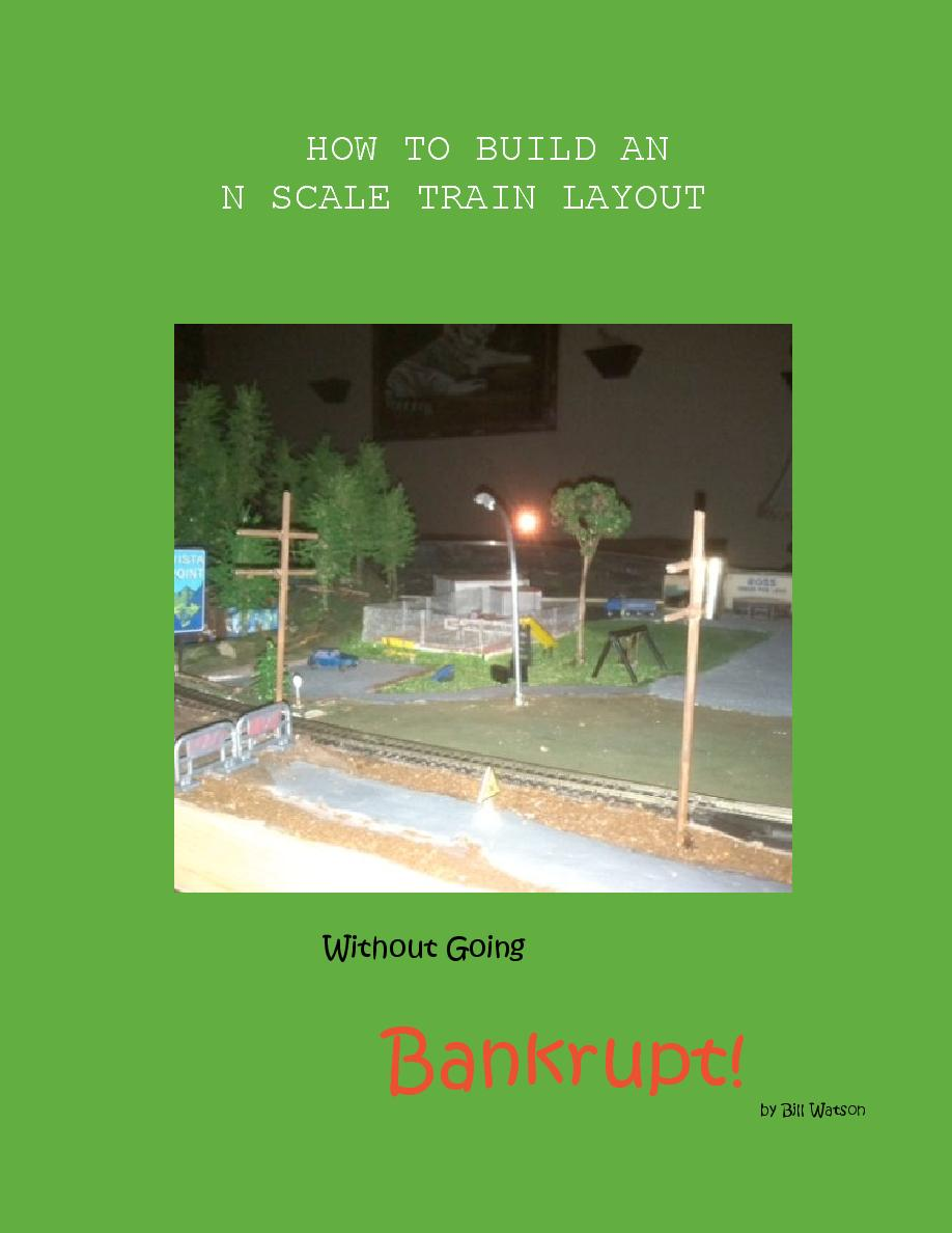 HOW TO BUILD AN N SCALE TRAIN LAYOUT