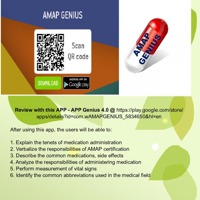 Approved Medication Administration Personnel Amap Basics Cover