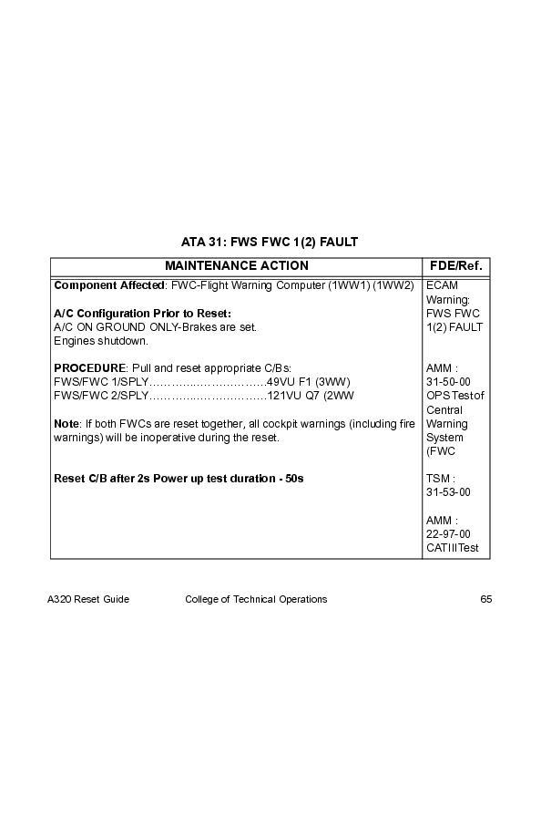 a320 reset guide a320 reset guide page 1231230 book 51297 rh bookemon com a320 cb reset guide