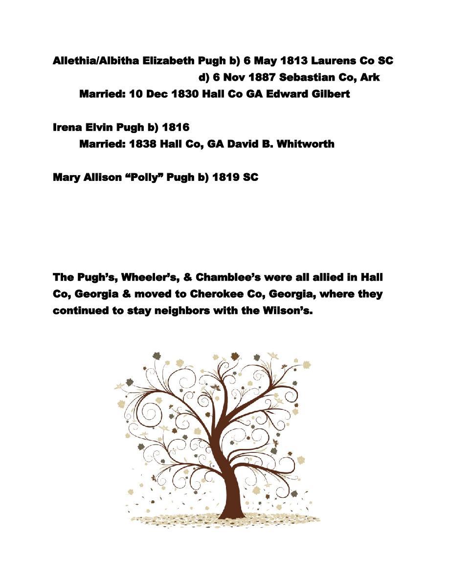 The Pugh Family | Page 5968874 | Book 240774 - Bookemon