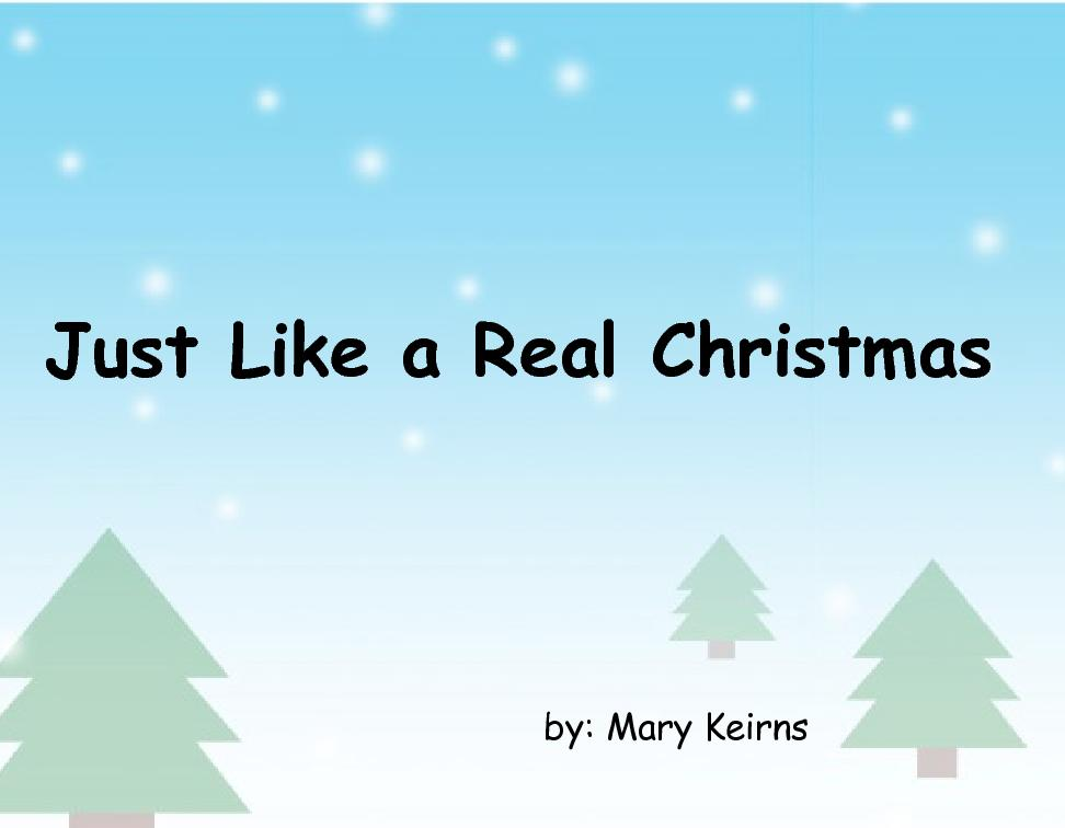 Flipbook: Just Like A Real Christmas Book 245306 | Front Cover ...