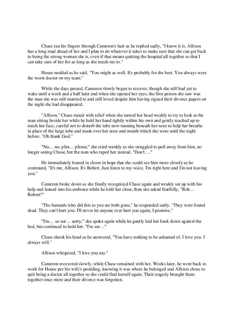 Please Forgive Me - House M D  | Page 14282756 | Book 614021 - Bookemon