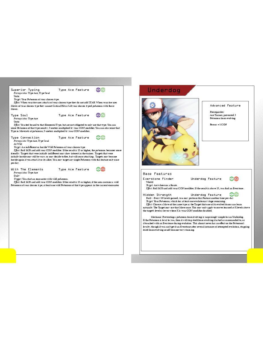 Pokemon Tabletop Adventures: Player's Handbook   Page