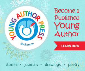 Bookemon Young Author Press Banner